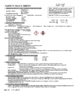 SDS Safety Data Sheets | Kleen Solutions Chems